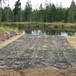 Geothermal Pond Loops -
