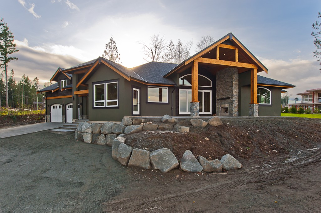 Saltair Custom Home With Detached Carriage House Custom